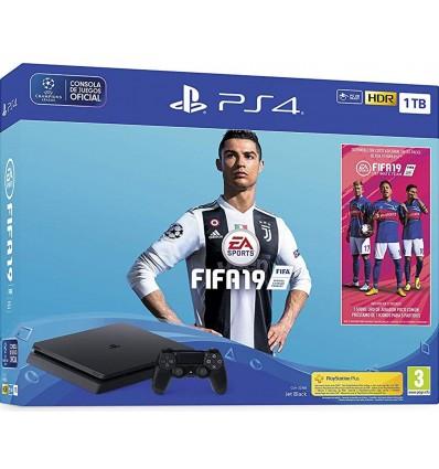 Sony PS4 Slim 1TB + FIFA 19