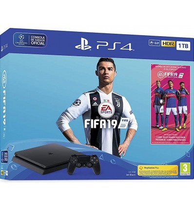 Sony PS4 Slim 1TB + FIFA 19
