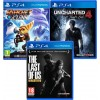 Sony PS4 Slim 1TB + Ratchet & Clank + Uncharted 4 + The Last of Us