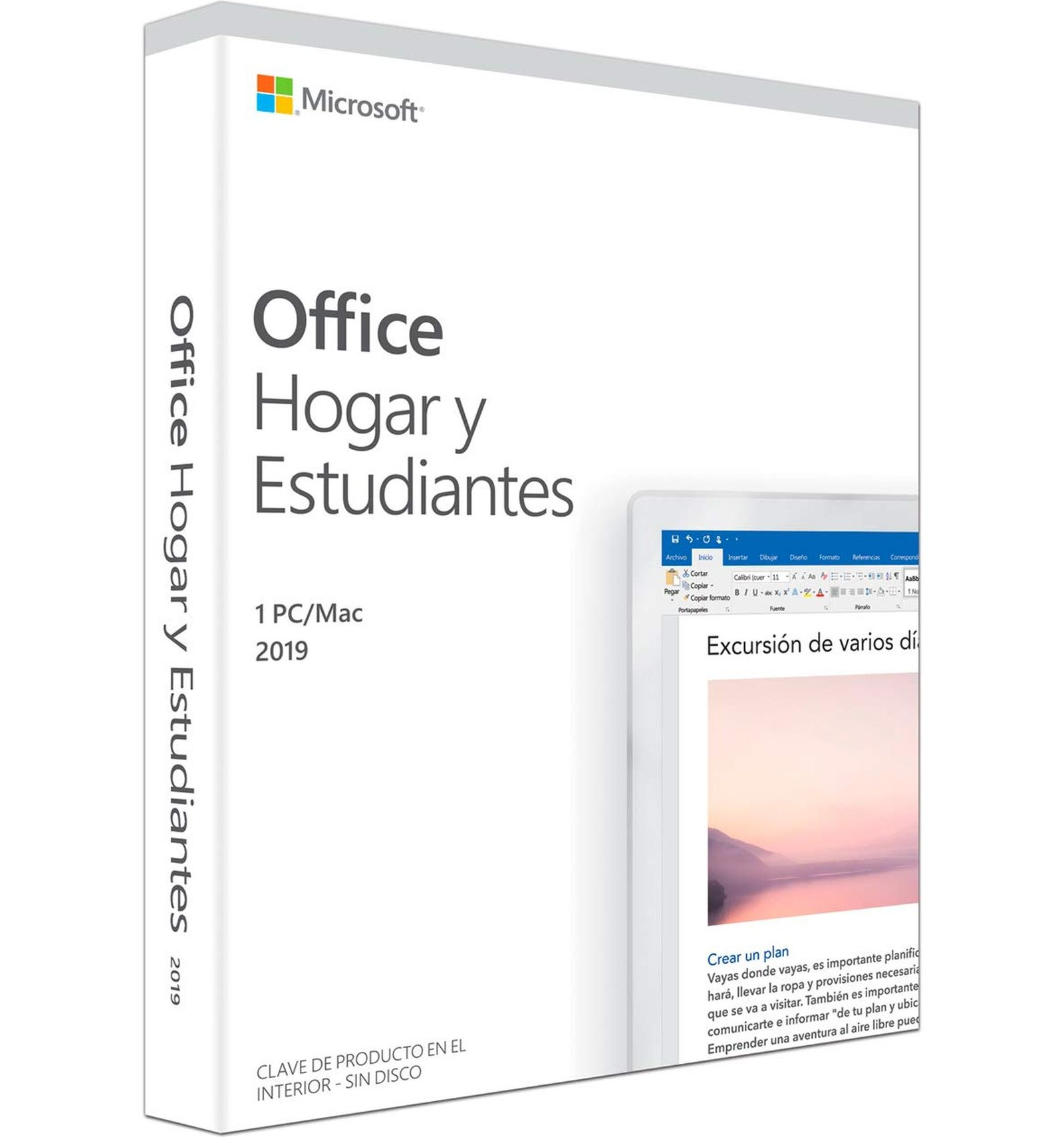 claves microsoft office 2019