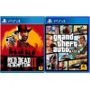 Sony PS4 Slim 1TB + Red Dead Redemption 2 + Grand Theft Auto V